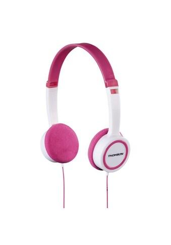 Thomson Kinderkopfhörer, On - Ear, Leichtgewicht, mit Kabel, Pink »Kopfhörer HED1105P« kaufen