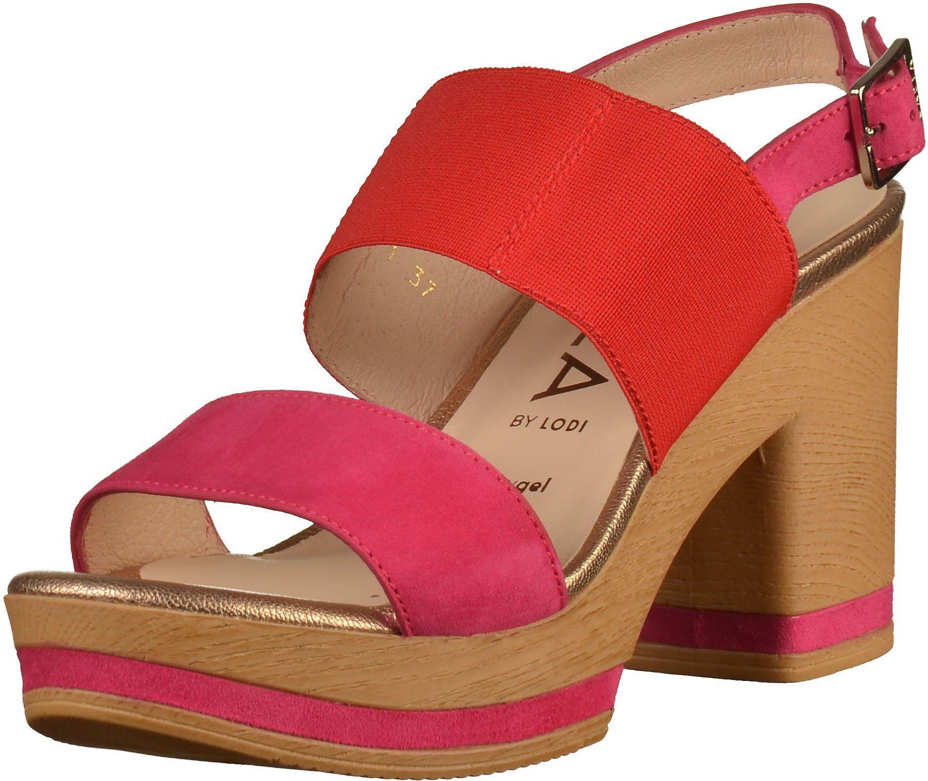gadea -  High-Heel-Sandalette Veloursleder