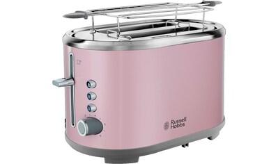 RUSSELL HOBBS Toaster »Bubble Soft Pink 25081 - 56«, für 2 Scheiben, 930 Watt kaufen