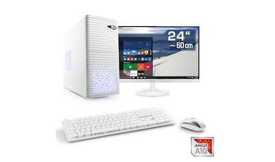 "CSL Multimedia PC   AMD A10 - 9700   Radeon R7   8 GB DDR4   24"" TFT »Sprint T4362 Windows 10 Home« kaufen"
