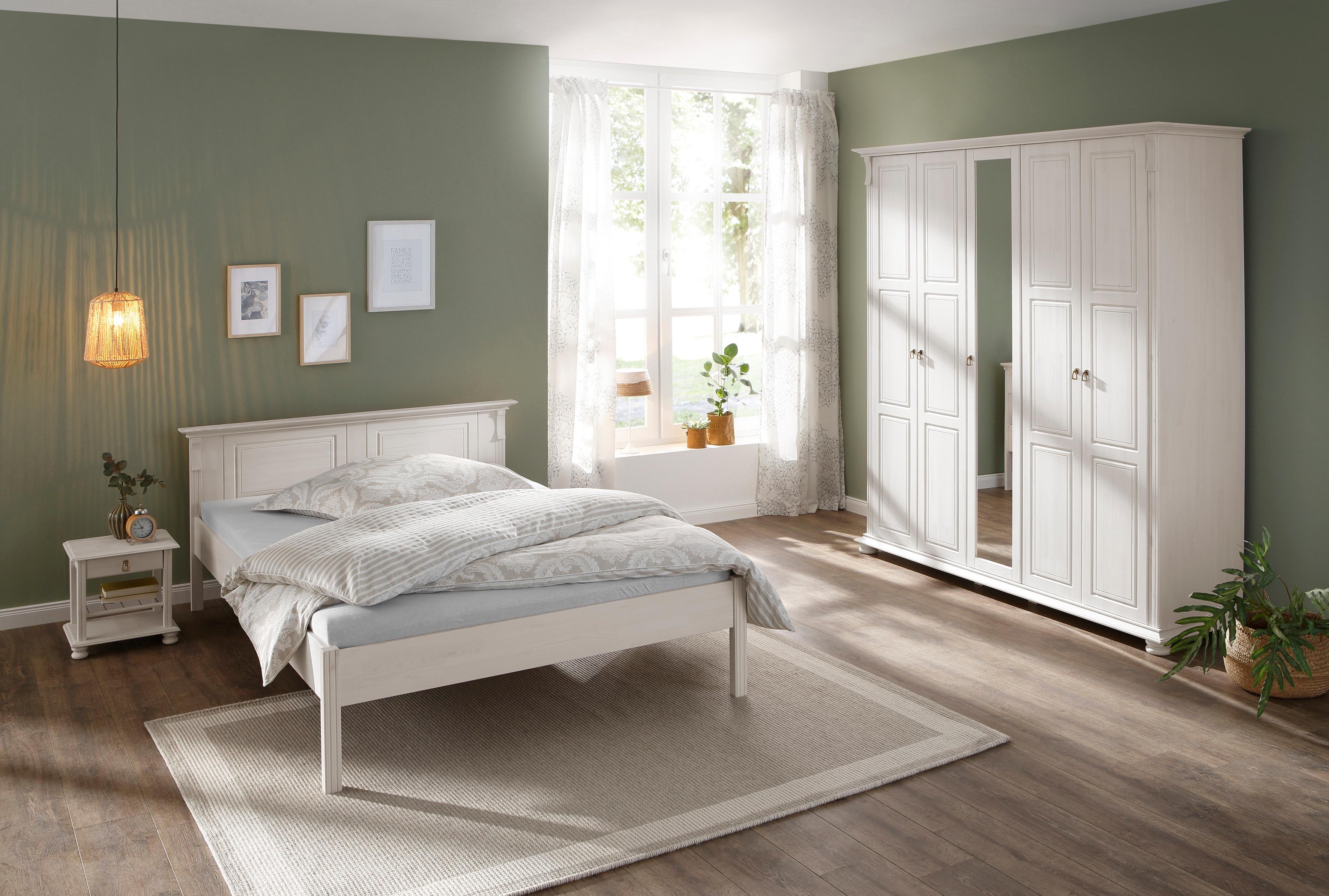 Home affaire Schlafzimmer-Set Mitu aus massiver Kiefer (3-teilig)