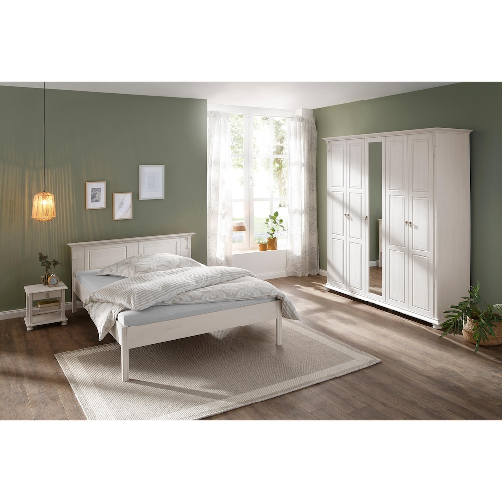 Home affaire Schlafzimmer-Set »Mitu«, (Set, 3 St.), aus massiver Kiefer (3-teilig)