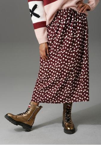 Aniston CASUAL Maxirock, in verschiedenen Blumendrucken kaufen