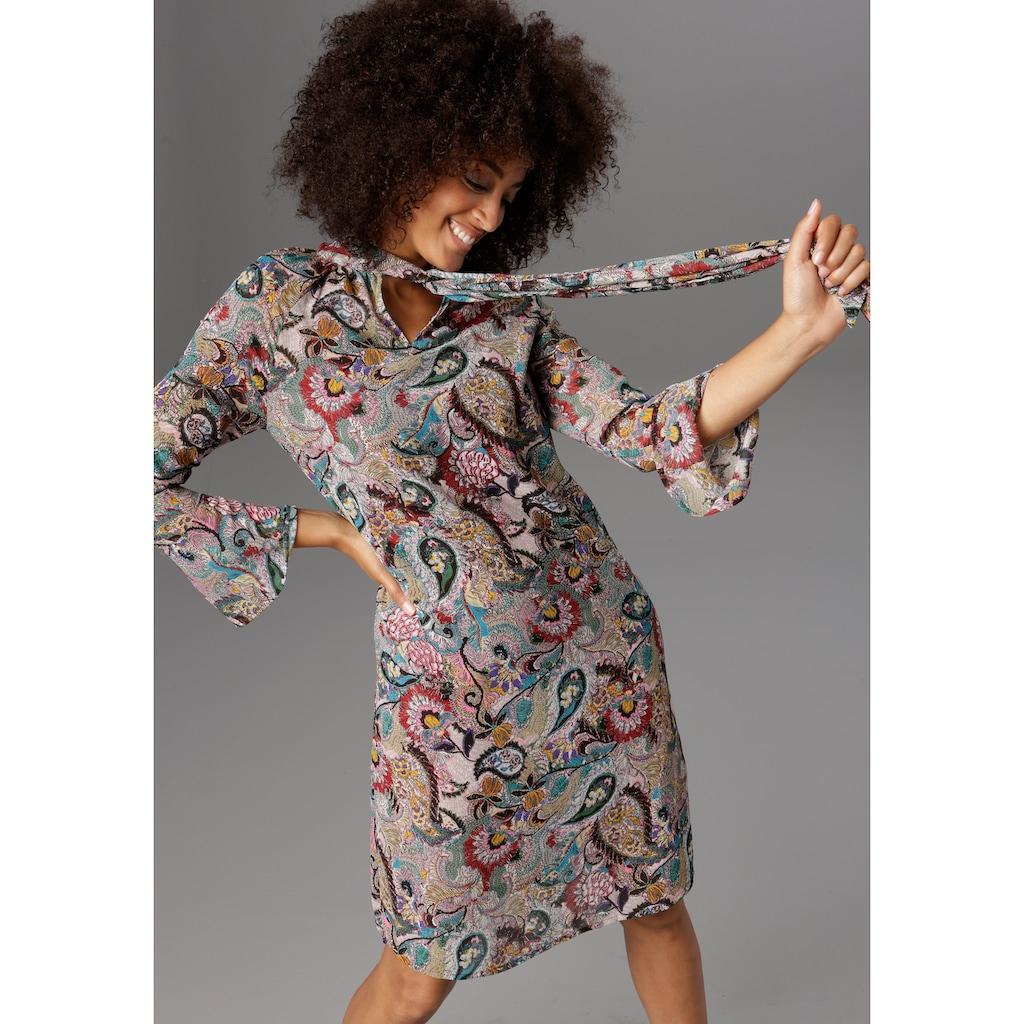 Aniston CASUAL Blusenkleid, mit Schluppe