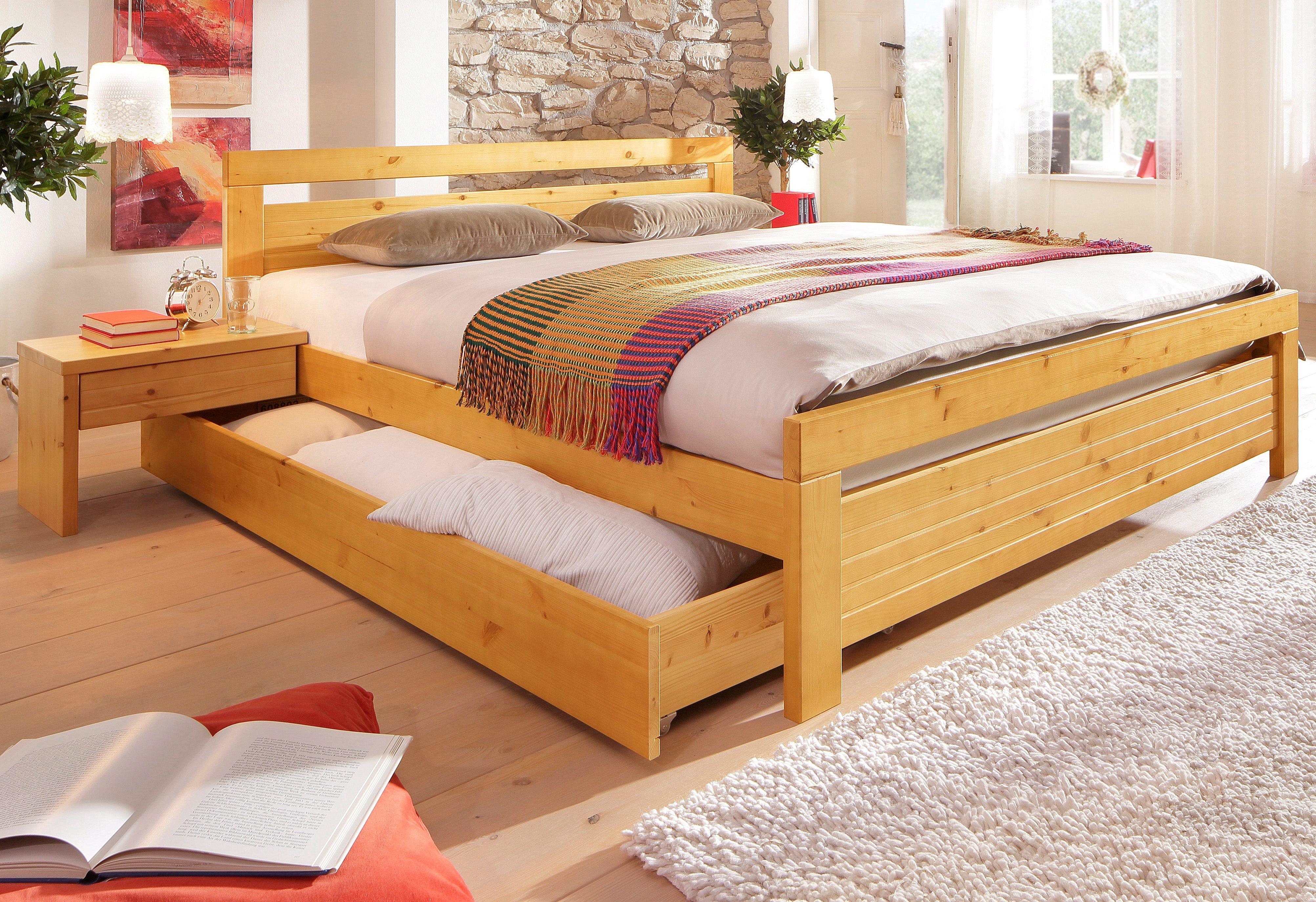 Home affaire Massivholzbett Capri