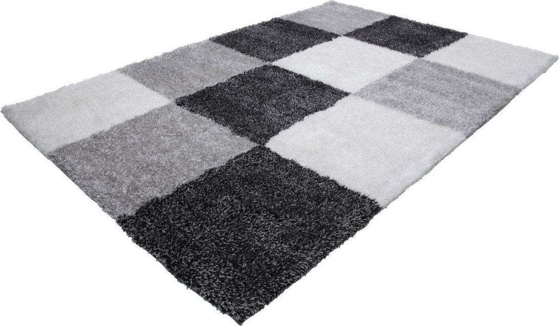Hochflor-Teppich Grace 803 LALEE rechteckig Höhe 40 mm handgewebt