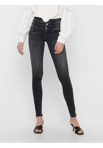 Only Skinny-fit-Jeans »ONLBLUSH«, mit Bund in Corsagen Optik kaufen