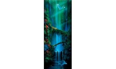 Papermoon Fototapete »Serenity - Türtapete«, matt, Vlies, 2 Bahnen, 90 x 200 cm kaufen