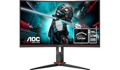 AOC »CQ27G2U/BK« Gaming - Monitor (27 Zoll, 2560 x 1440 Pixel, QHD, 1 ms Reaktionszeit, 144 Hz) kaufen