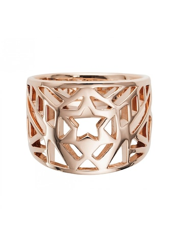 CAÏ Silberring »925/- Sterling Silber rotvergoldet Stern« kaufen