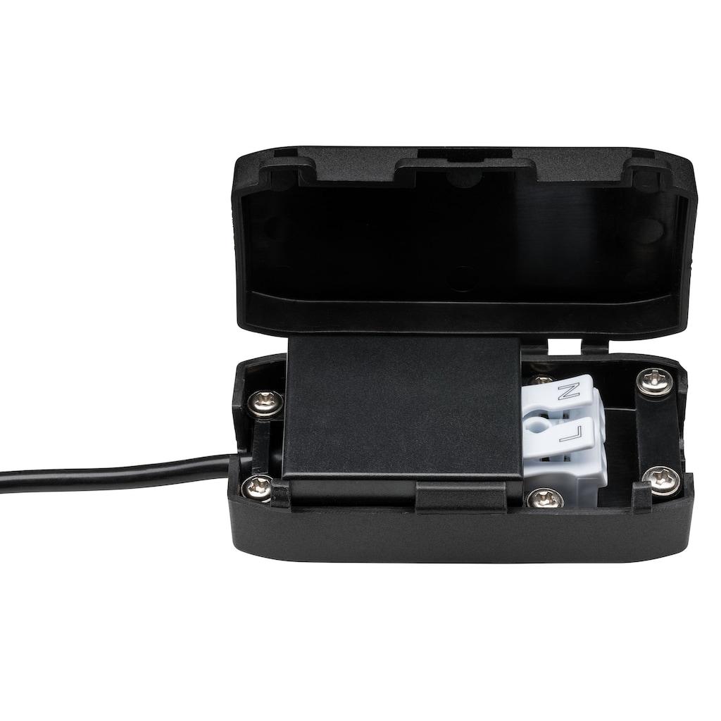 Paulmann LED Einbaustrahler »dimmbar IP23 rund Eisen Coin Slim 6,8W schwenkbar«, 3 St., Warmweiß