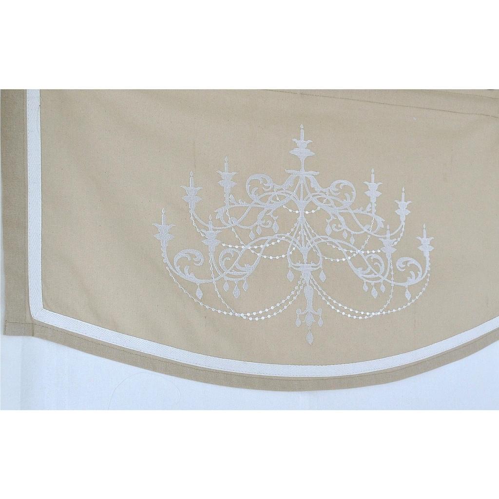 Kutti Raffrollo »Orleans«, mit Hakenaufhängung, ohne Bohren, freihängend, mit Ösen, incl. Fensterhaken