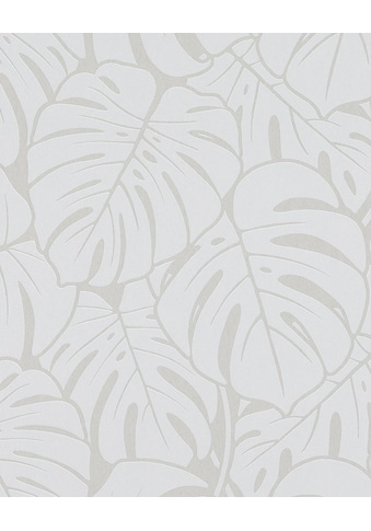 Marburg Vliestapete »schwarz-silber«, floral, restlos abziehbar kaufen