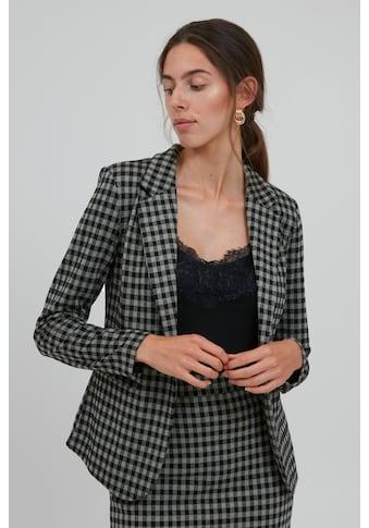 Ichi Sweatblazer »IHKATE CHECKY BL 20114642«, modischer karierter Blazer kaufen