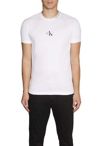 Calvin Klein Jeans T - Shirt »CENTER MONOGRAM TEE« kaufen
