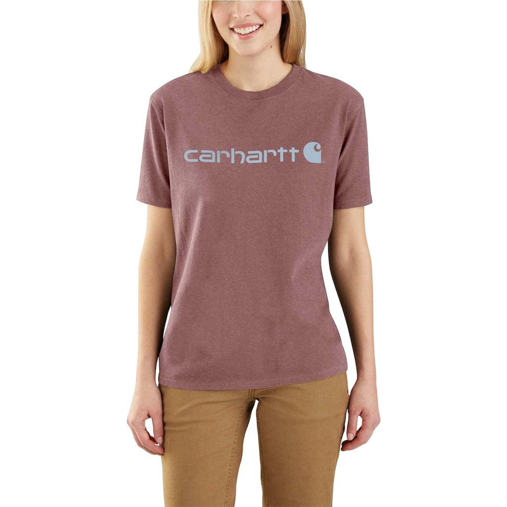 Carhartt T-Shirt, RAISIN HEATHER