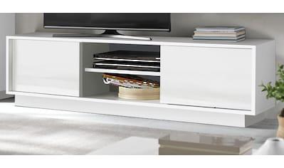 LC Lowboard »Ice«, Breite 139 und 184 cm, grifflos kaufen