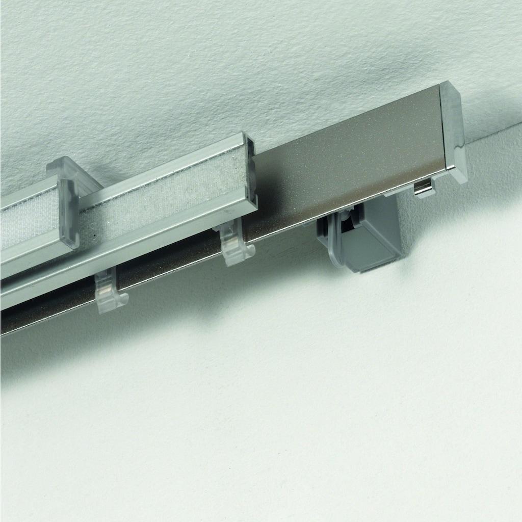 GARDINIA Paneelwagen »Clip-On«, geeignet für Schiebegardinen und Scheibenvorhänge. Zum Klippen auf Flächenvorhangschienen, aus Kunststoff, Serie   Perfectline