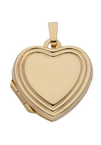 Adelia´s Kettenanhänger »333 Gold Medaillon Anhänger«, Goldschmuck für Damen kaufen
