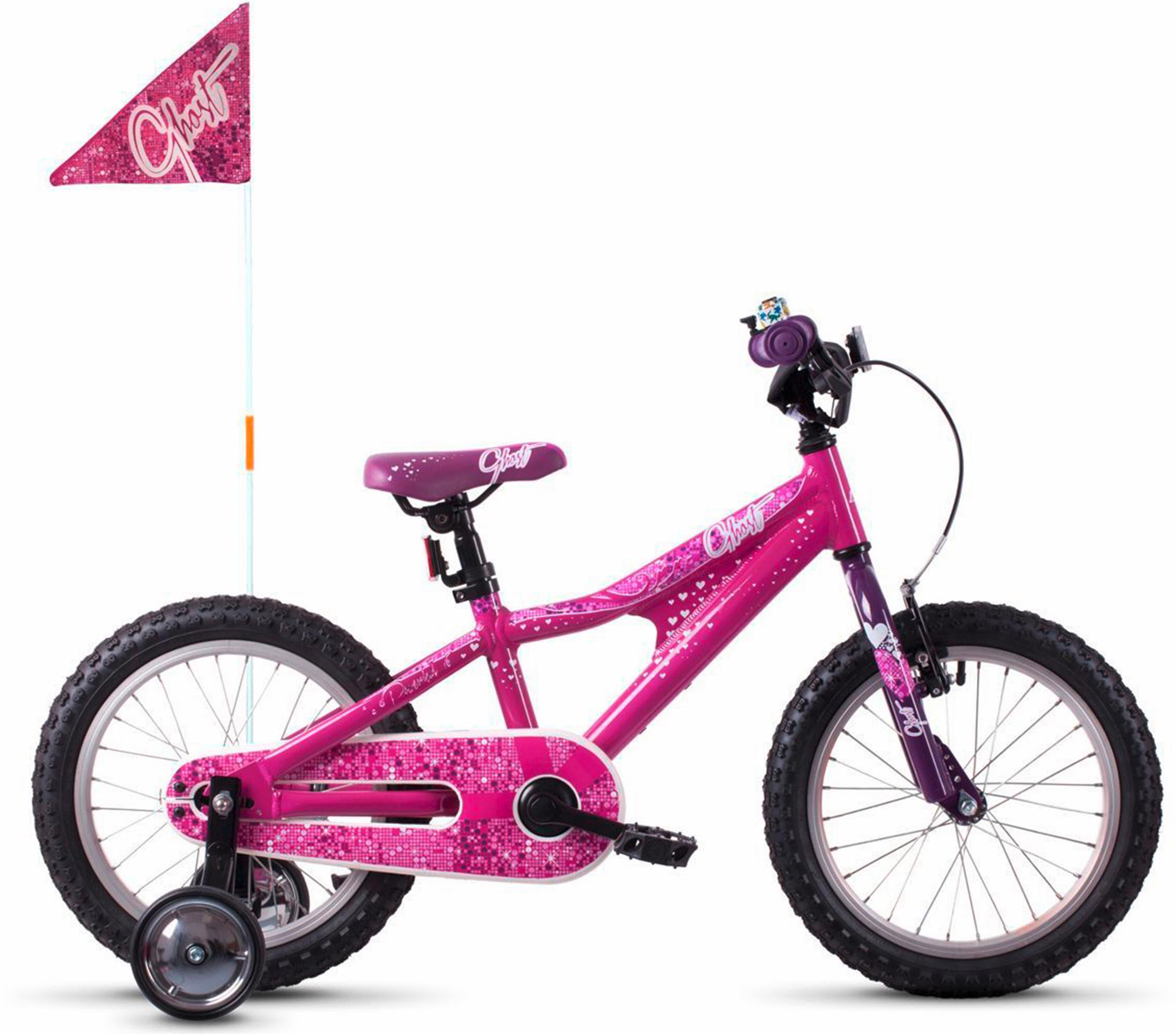 Ghost Kinderfahrrad POWERKID AL 16 K rosa Kinder Kinderfahrräder Fahrräder Zubehör Fahrrad