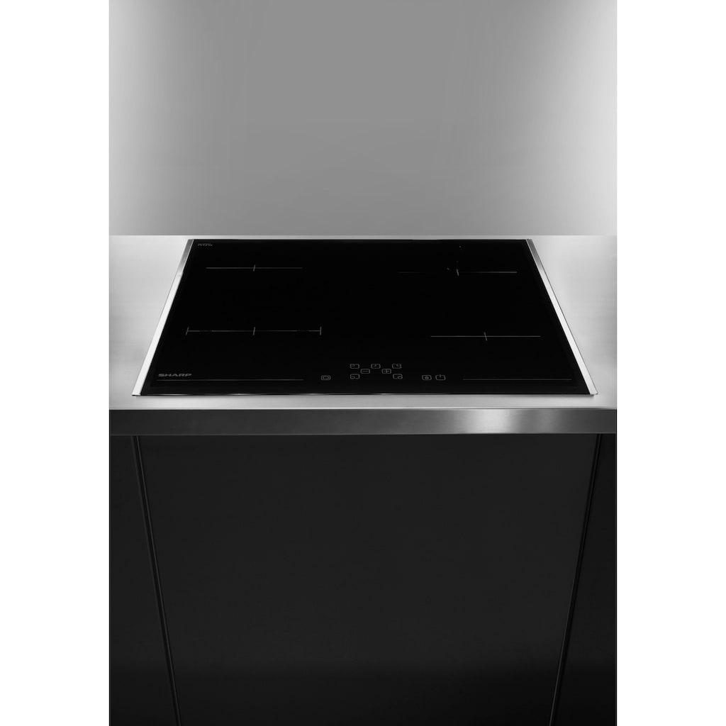 Sharp Elektro-Kochfeld von SCHOTT CERAN®, KH-6V08FT00-EU
