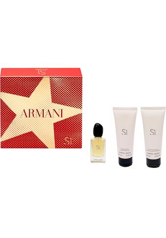 "Giorgio Armani Duft - Set ""Sì"", 3 - tlg. kaufen"