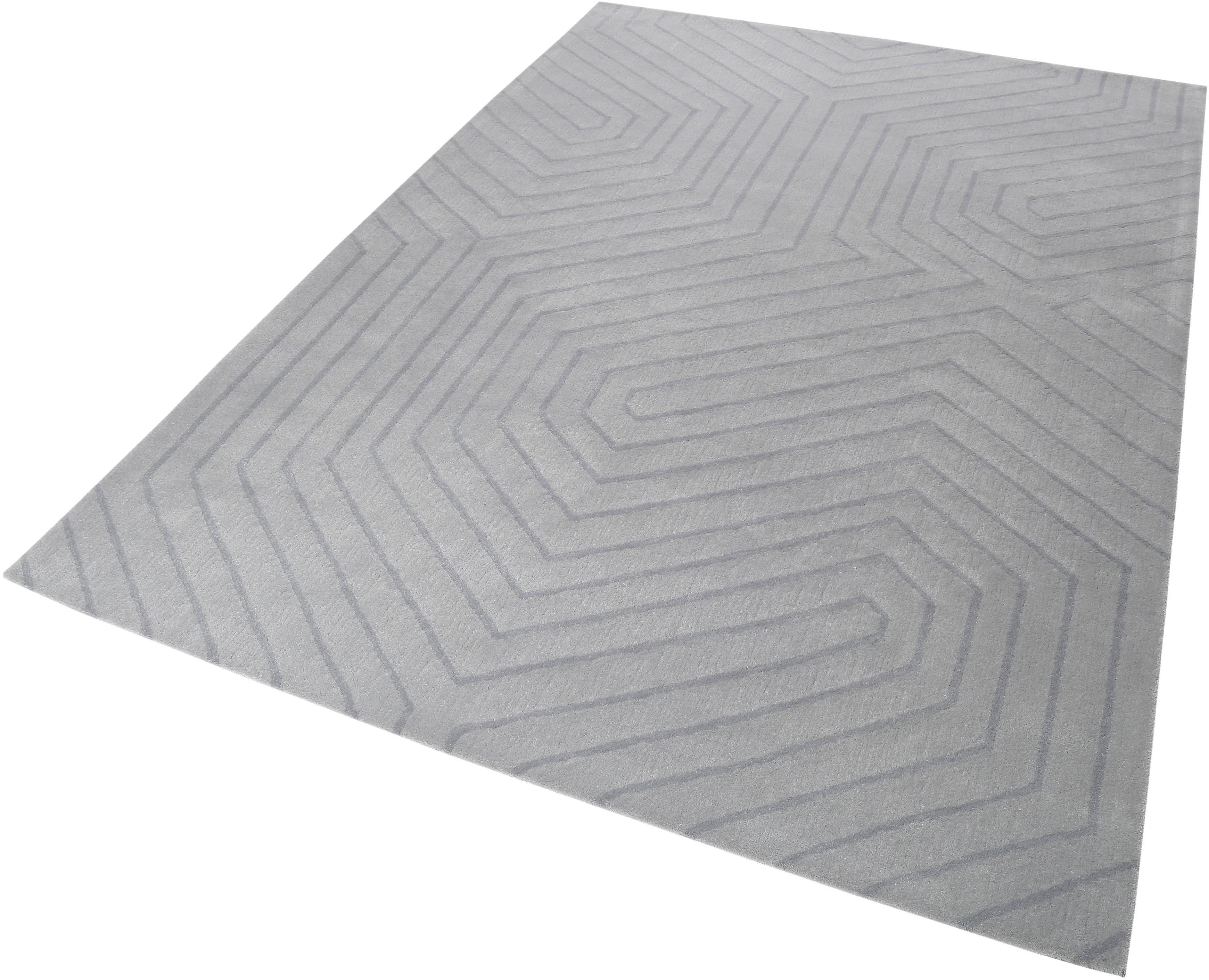 Wollteppich Raban Esprit rechteckig Höhe 10 mm handgetuftet