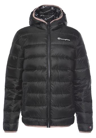 Champion Steppjacke »Hooded Jacket« kaufen