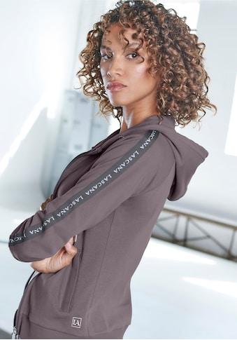 LASCANA ACTIVE Trainingsjacke, mit Logo Tape an den Ärmeln kaufen