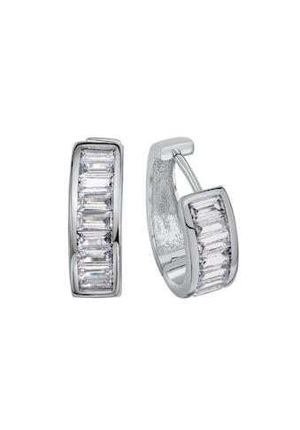 Vivance Paar Creolen »925 Silber rhodiniert«, Oberfläche: Glänzend kaufen