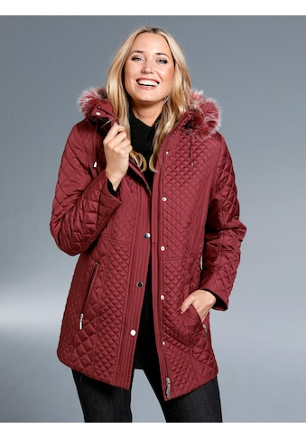 m. collection Steppjacke mit abnehmbarer Kapuze kaufen