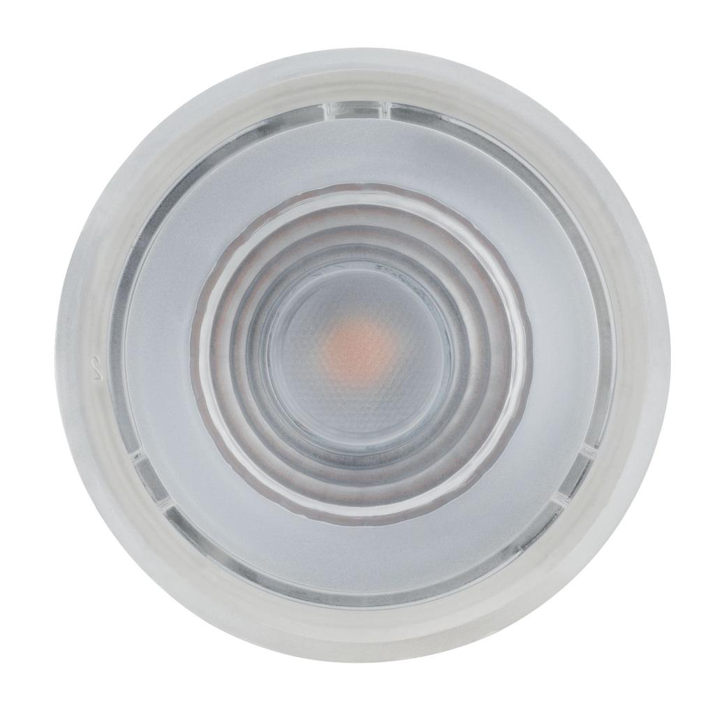 Paulmann LED-Leuchtmittel »Modul Reflector Coin für Einbauleuchten 6,8W 1er-Set dimmbar, Warmweiß«, 1 St., Warmweiß
