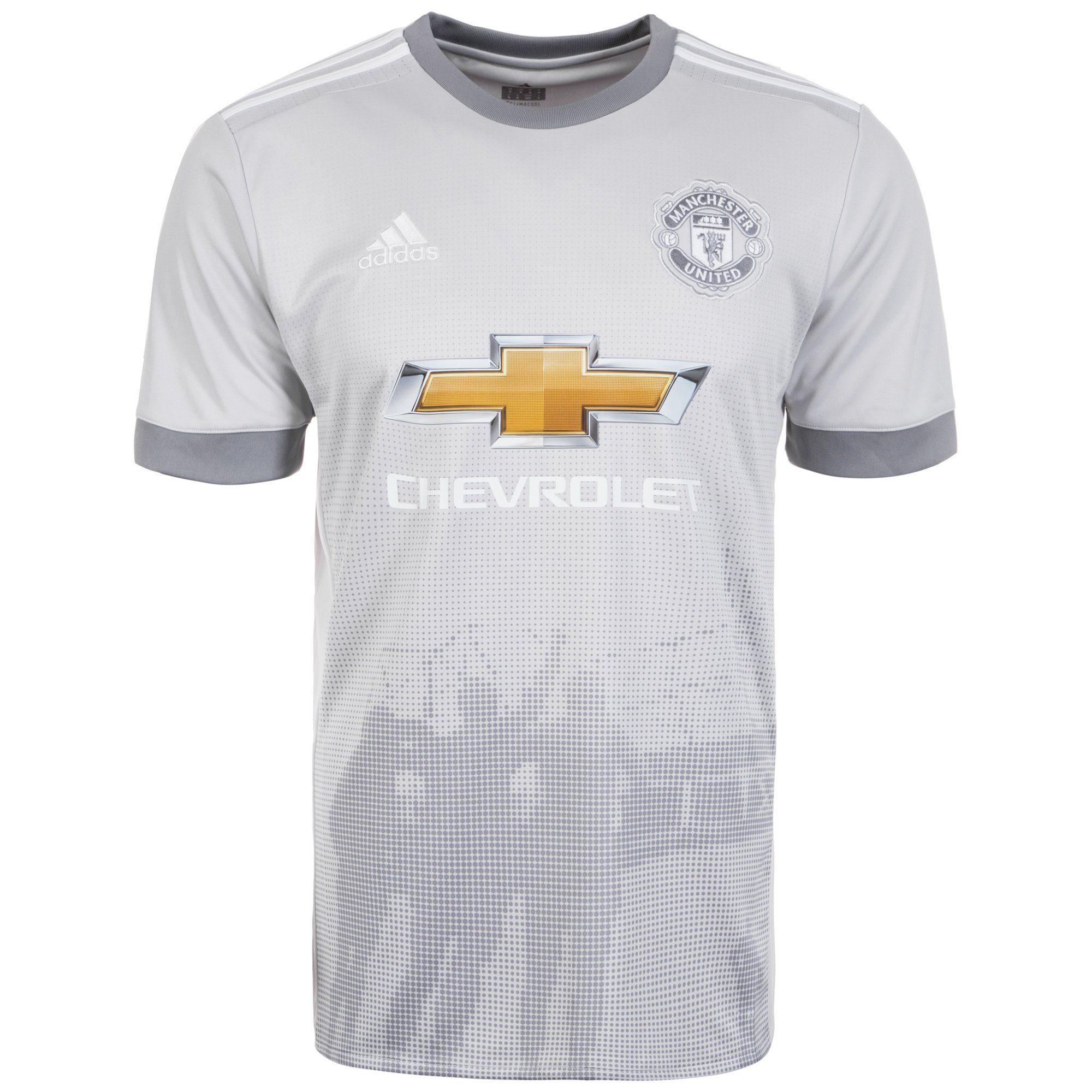 adidas Performance Fußballtrikot Manchester United 17/18 3rd | Sportbekleidung > Trikots > Fußballtrikots | Grau | Trikot | Adidas Performance