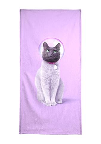 "Strandtuch ""Space Cat"", Juniqe kaufen"