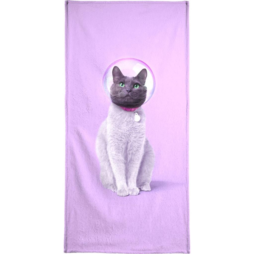 """Strandtuch """"Space Cat"""", Juniqe"""