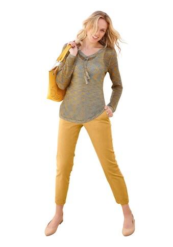 Inspirationen Pullover in effektvollem Multicolourgarn kaufen