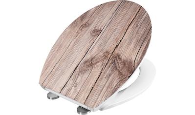 CORNAT WC-Sitz »WC-Sitz EICHE«, Duroplast Struktur WC-Sitz EICHE kaufen