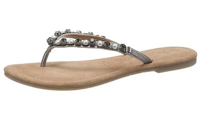 Tamaris Zehentrenner »Milos«, mit schöner Steinchenverzierung kaufen