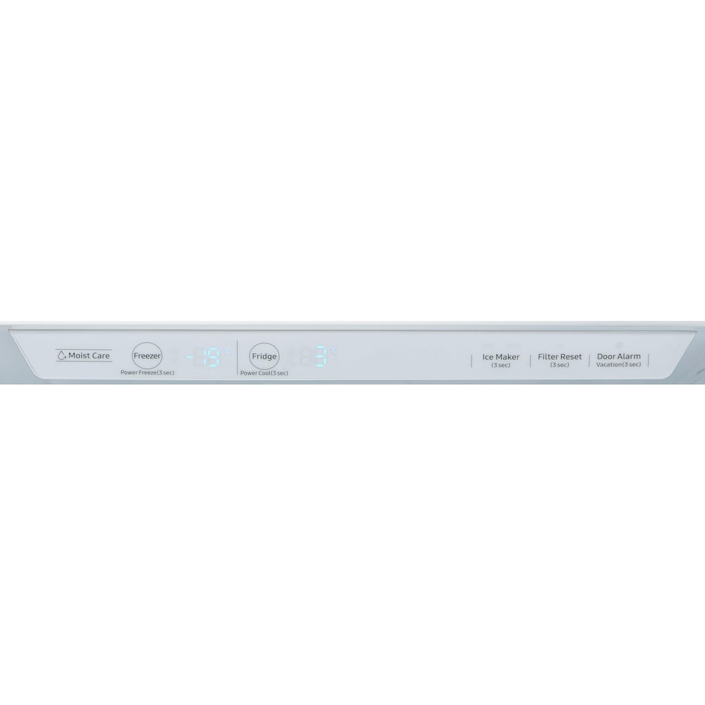Samsung Side-by-Side »RS6GN8221S9«, RS8000, RS6GN8221S9, 178 cm hoch, 91,2 cm breit, No Frost