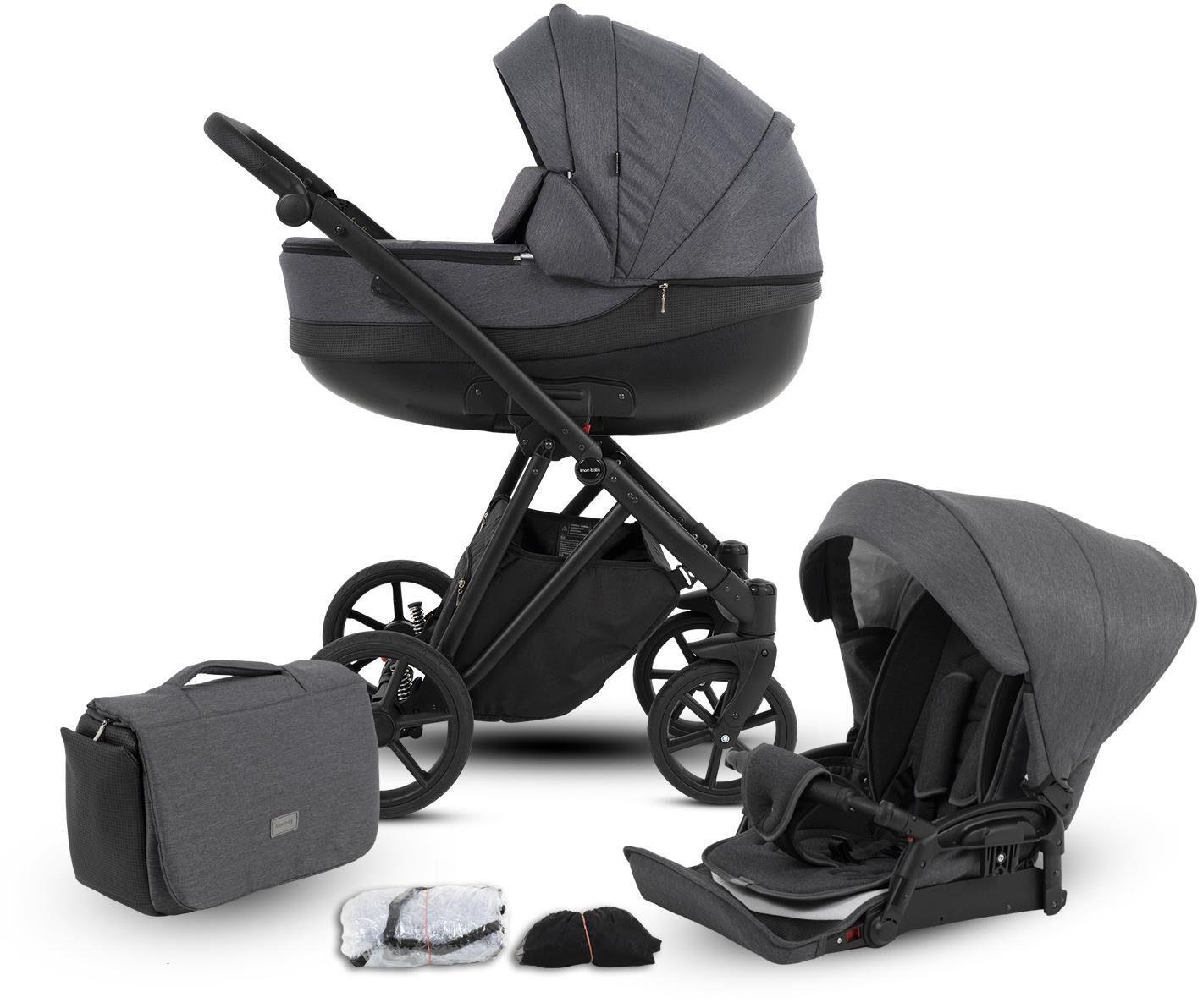 """Knorrbaby Kombi-Kinderwagen """"YAP grau"""" Kindermode/Ausstattung/Kinderwagen & Buggies/Kinderwagen/Kombikinderwagen"""