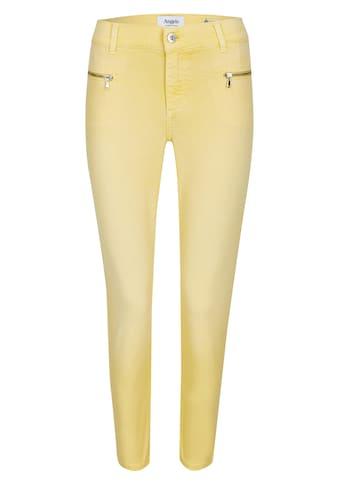 ANGELS Ankle-Jeans,Lou Lou' im unifarbenen Design kaufen