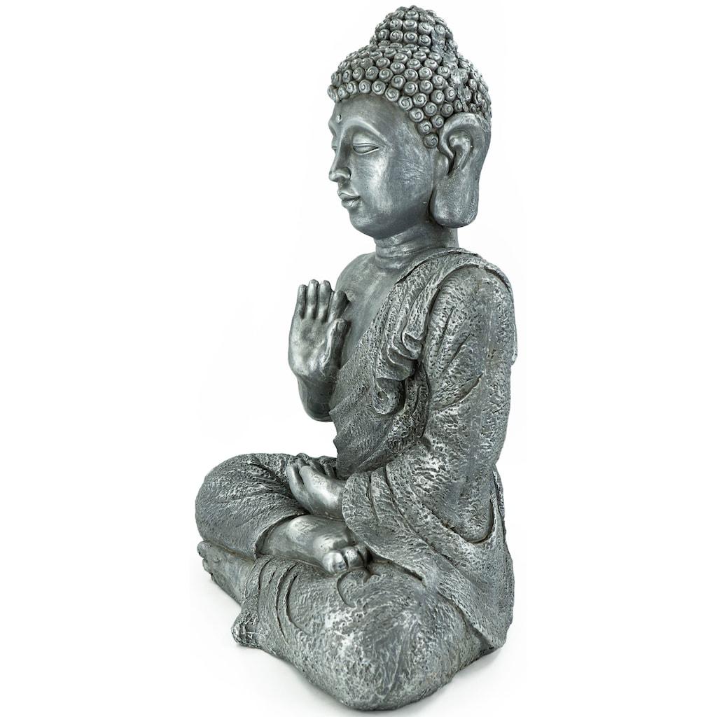 NOOR LIVING Buddhafigur »Buddha, sitzend, Hand vorm Körper«