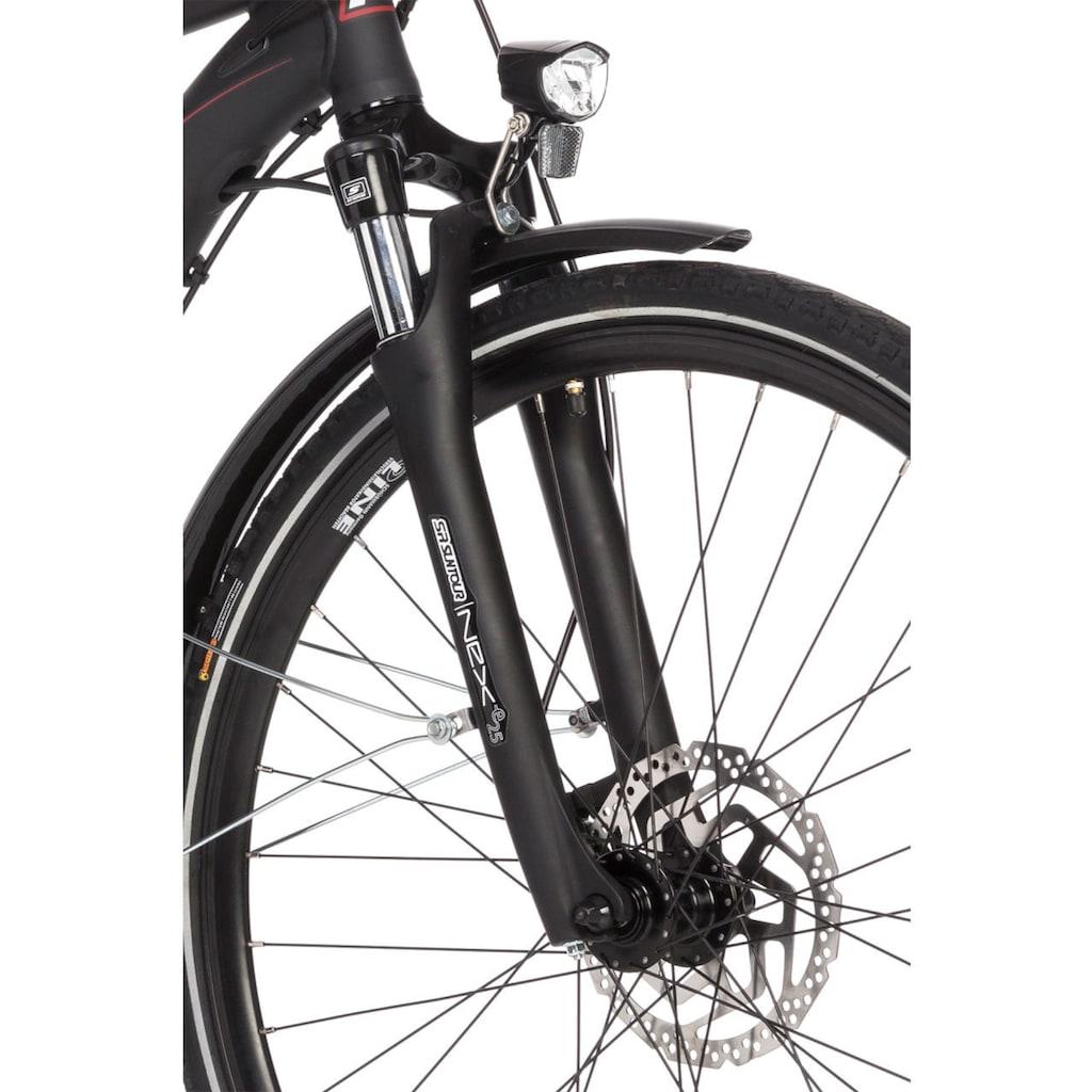 FISCHER Fahrräder E-Bike »ETH 1822«, 24 Gang, Shimano, Deore, Heckmotor 250 W