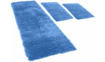 KiNZLER Hochflor-Bettumrandung »Pireo«, synthetischer Flokati kaufen