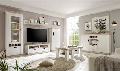 Wohnzimmerschrank Weiss Landhaus Online Kaufen Baur