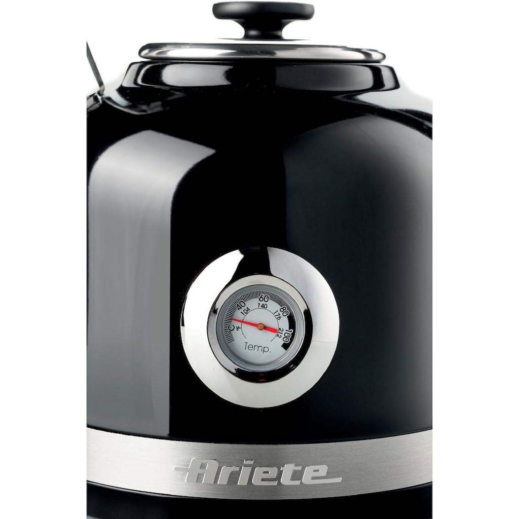 Ariete Wasserkocher »2854BK moderna«, 1,7 l, 2200 W
