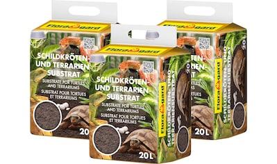 Floragard Terrarien-Substrat »Schildkrötensubstrat«, 3x20 Liter kaufen