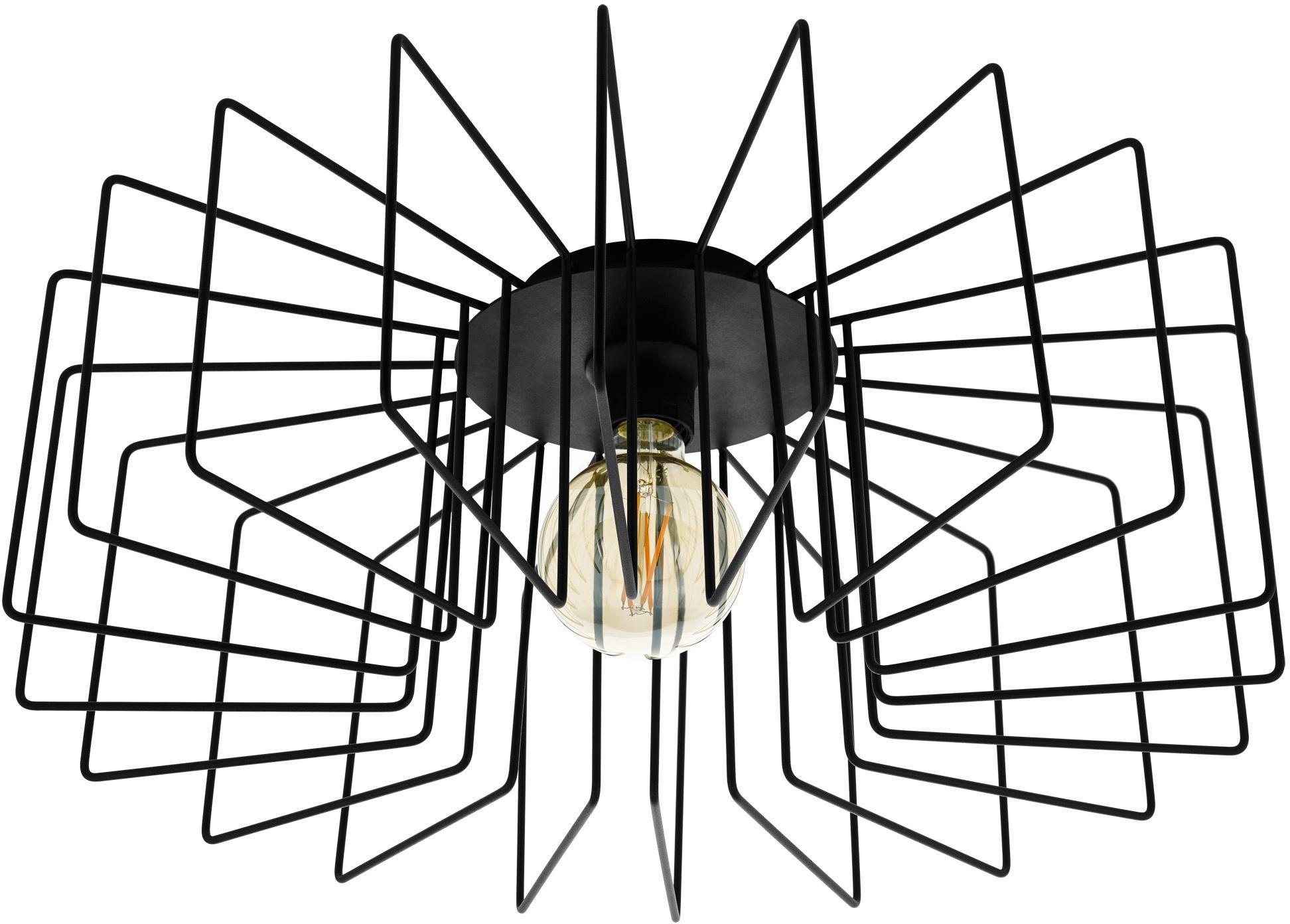 EGLO Deckenleuchte TREMEDAL, E27, Deckenlampe