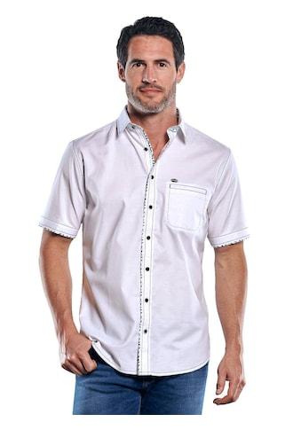 Engbers Elastisches Kurzarmhemd mit kernigen Steppnähten kaufen