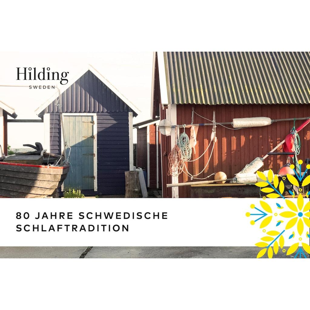 Hilding Sweden Komfortschaummatratze »Pure Twocore«, (1 St.), 2 Härtegrade in einer Matratze